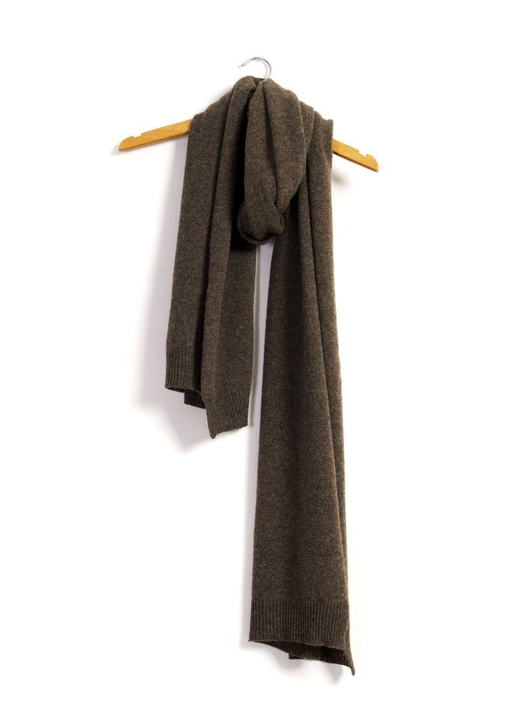 ULRIK | Single Stitch Scarf | Oak | €120 -HANSEN Garments- HANSEN Garments