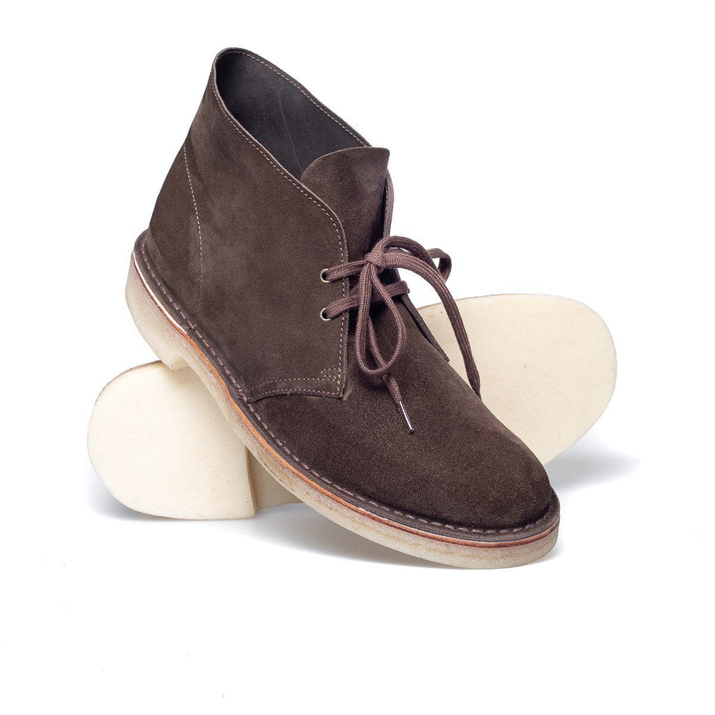 WALLACE | Chukka Boot | Chocolate Brown -Solovair- HANSEN Garments