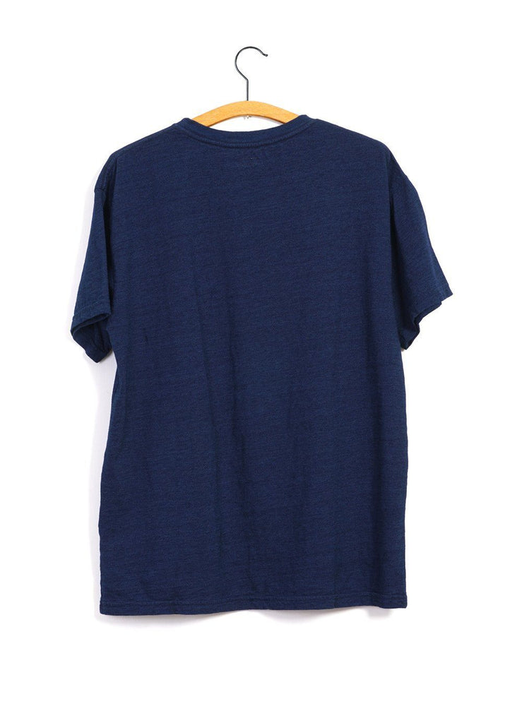 WAPI SABI FOR PEACE | Crew Neck T | Indigo | €170 -Kapital- HANSEN Garments