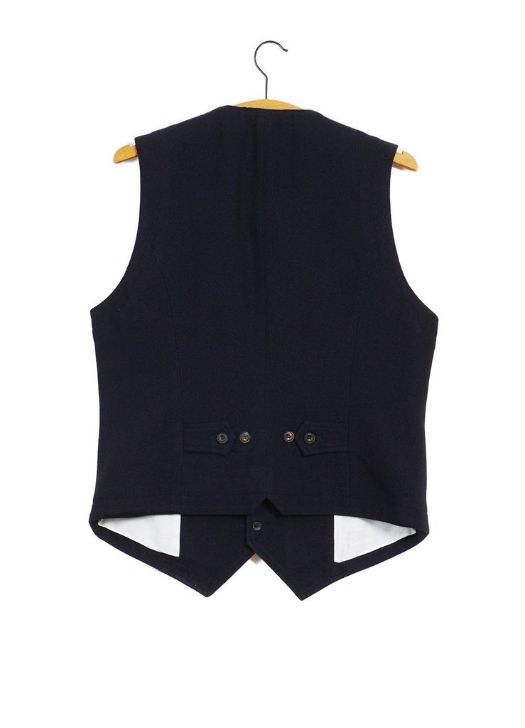 HANSEN Garments - WILLIAM | Lapel Waistcoat | Deep Indigo - HANSEN Garments