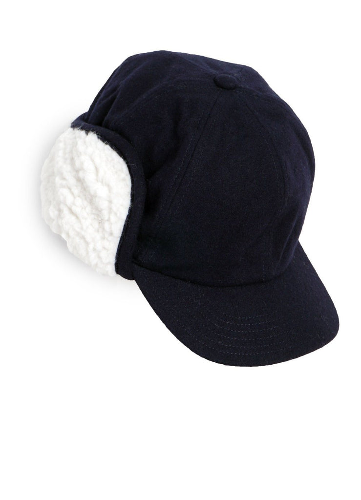 DANTON - WOOL BOA CAP | Navy - HANSEN Garments