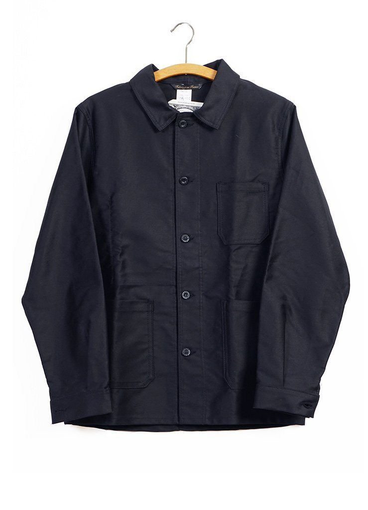 WORK JACKET | Moleskin | Black | €185 -LE LABOUREUR- HANSEN Garments