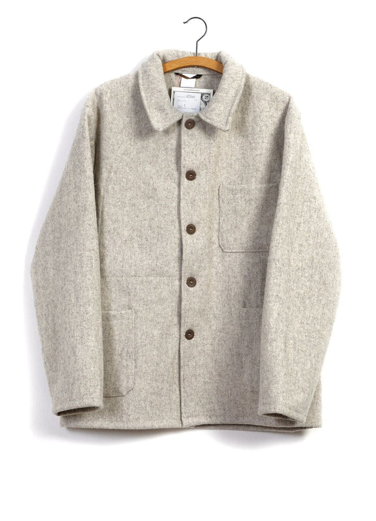 WORK JACKET | Wool | Nature | €225 -LE LABOUREUR- HANSEN Garments