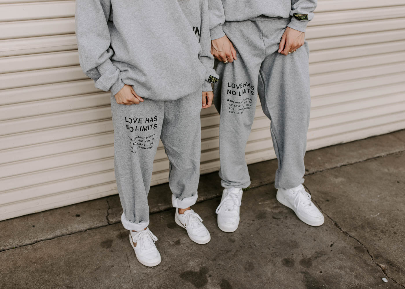 Gray LHNL Sweatpants