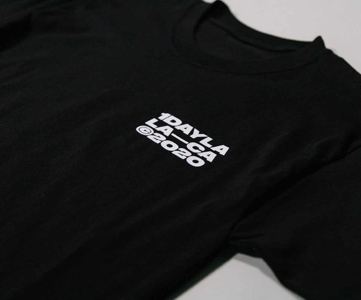 Black LA-CA T-Shirt