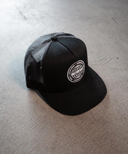 Load image into Gallery viewer, Black Trucker Hat