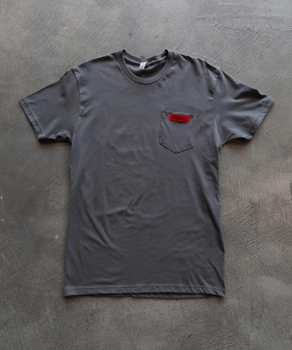 Gray Pocket Tee