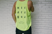 Load image into Gallery viewer, Neon Yellow 1Nation1Day Tank