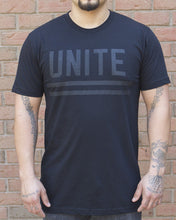 Load image into Gallery viewer, Black Unite Tee