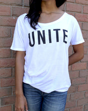 Load image into Gallery viewer, UNITE Women's Slouchy Tee