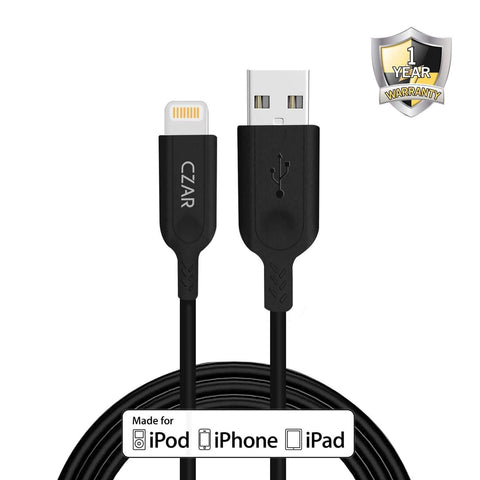 Apple MFi Certified  High Durability USB A to Lightning Cable