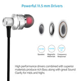 Acoustics CW630  in-Ear Wired Earphones with Mic Dynamic Bass.