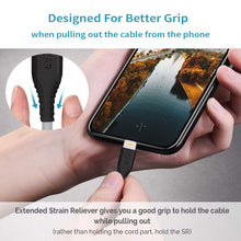 Load image into Gallery viewer, USB A to Lightning 1.2 Meter iPhone Cable