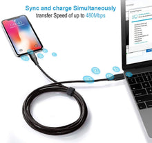 Load image into Gallery viewer, USB Type C to Lightning 1.2 Meter iPhone Cable