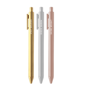 Stay Golden Jotter Pen Set