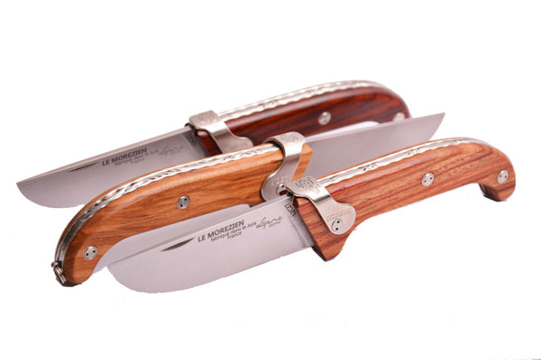 The Le Morezien Guillochè Knife by Jean-Pierre Lepine