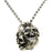 Eternal Legend Laughing Skulls Sterling Silver Necklace