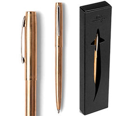 Fisher Space Pen RAW BRASS CAP-O-MATIC