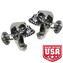 Laughing Skull Cufflinks