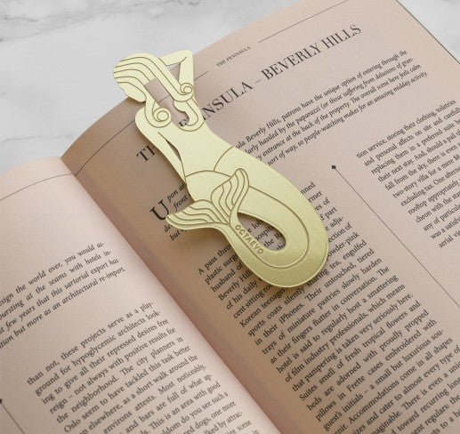 Octaevo SIRENA BOOKMARK BRASS