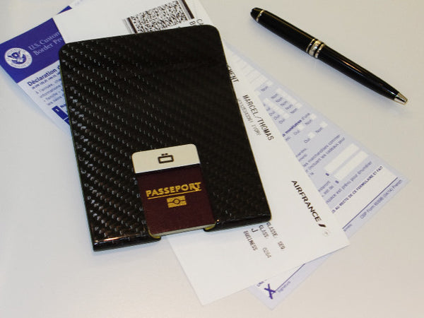 Ogon Designs Carbon Fiber Passport Clip