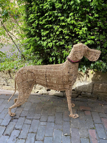 cane animal sculpture