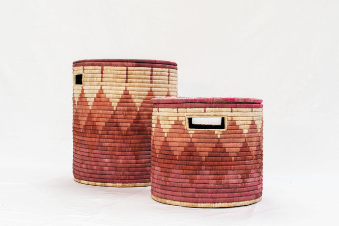 Small & Medium Basket - Sunset