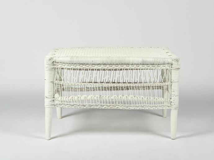 Traditional Coffee Table in White