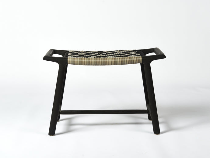 Rus stool - black oiled ash