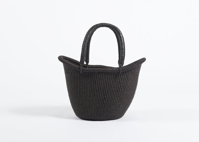 Nyariga Large Basket in Black
