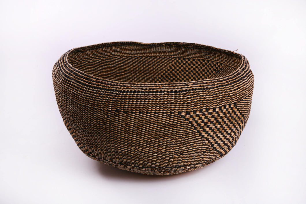 Baba Bowl in Black and Natural - 3