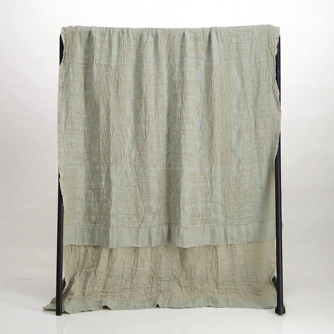 Bologan Linen Throw Celadon