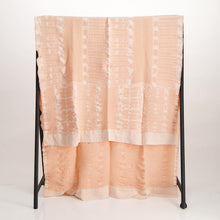 Load image into Gallery viewer, Bogolan Linen Throw Pink