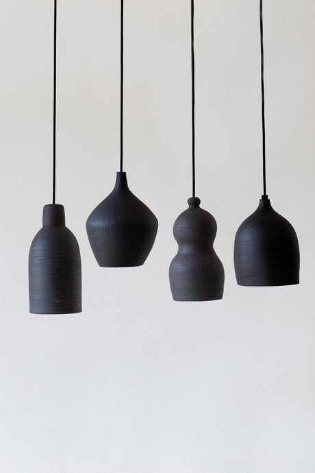 Black Ceramic Pendant light