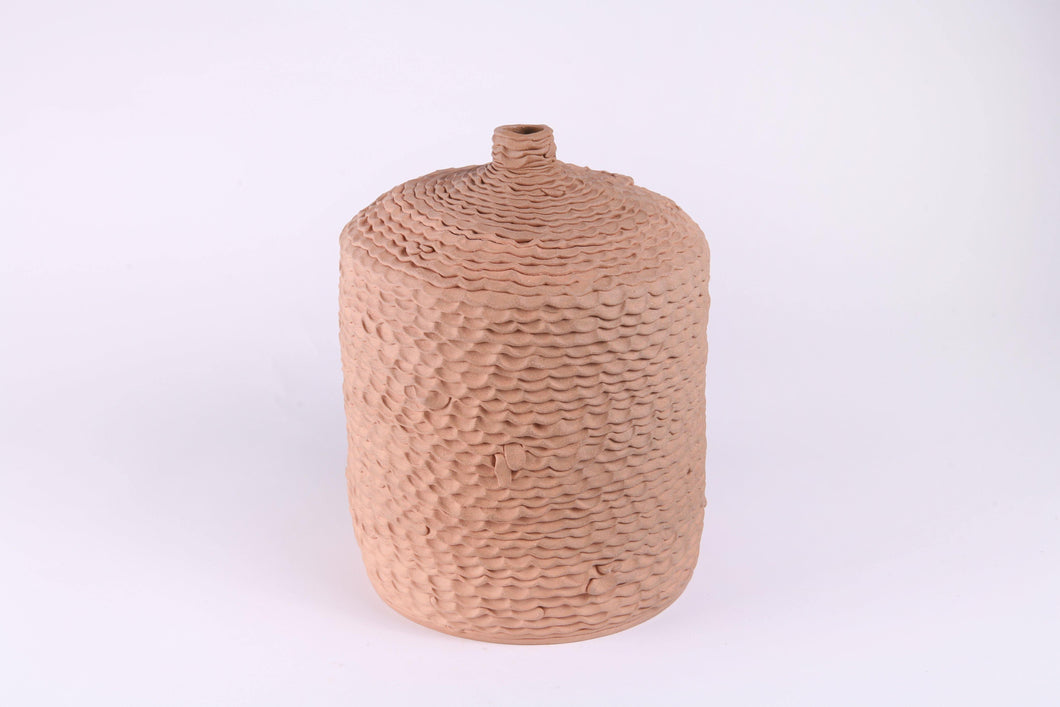 Ceramic Vessel - Rust Cooler