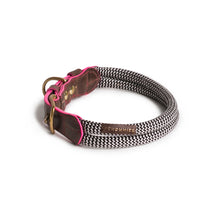 Load image into Gallery viewer, Chommies Large Dog Collar in Pink