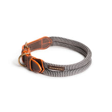 Load image into Gallery viewer, Chommies Large Dog Collar in Orange