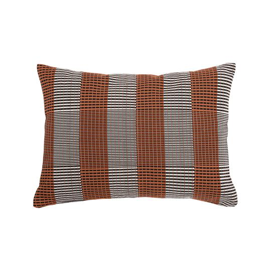 '2 Step' Kente Cushion - Ginger