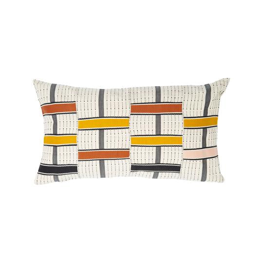 'To + Fro' Kente Cushion - Ginger