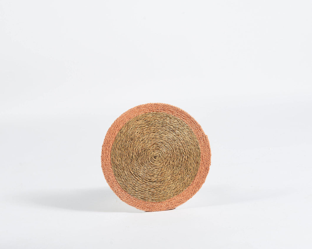 Gone Rural Blush woven grass place mat - Hadeda Limited