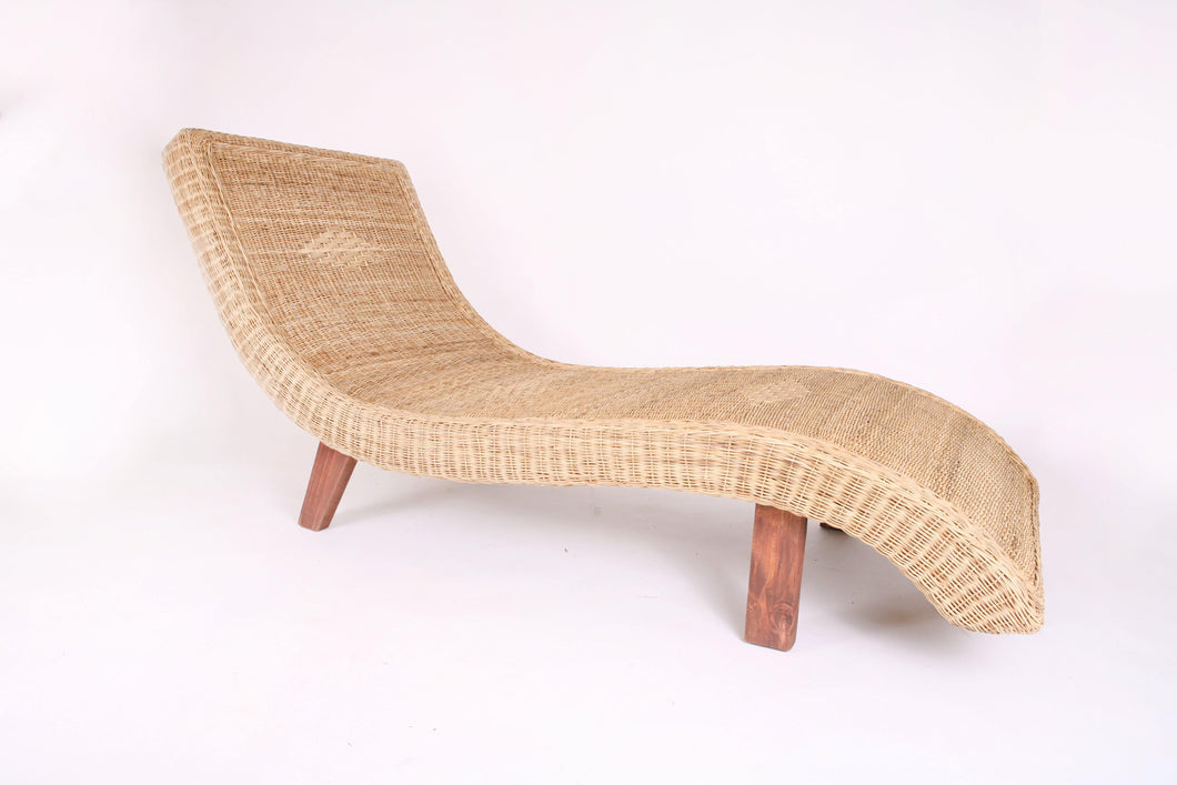 Cane Wave Lounger in Natural - Hadeda Limited