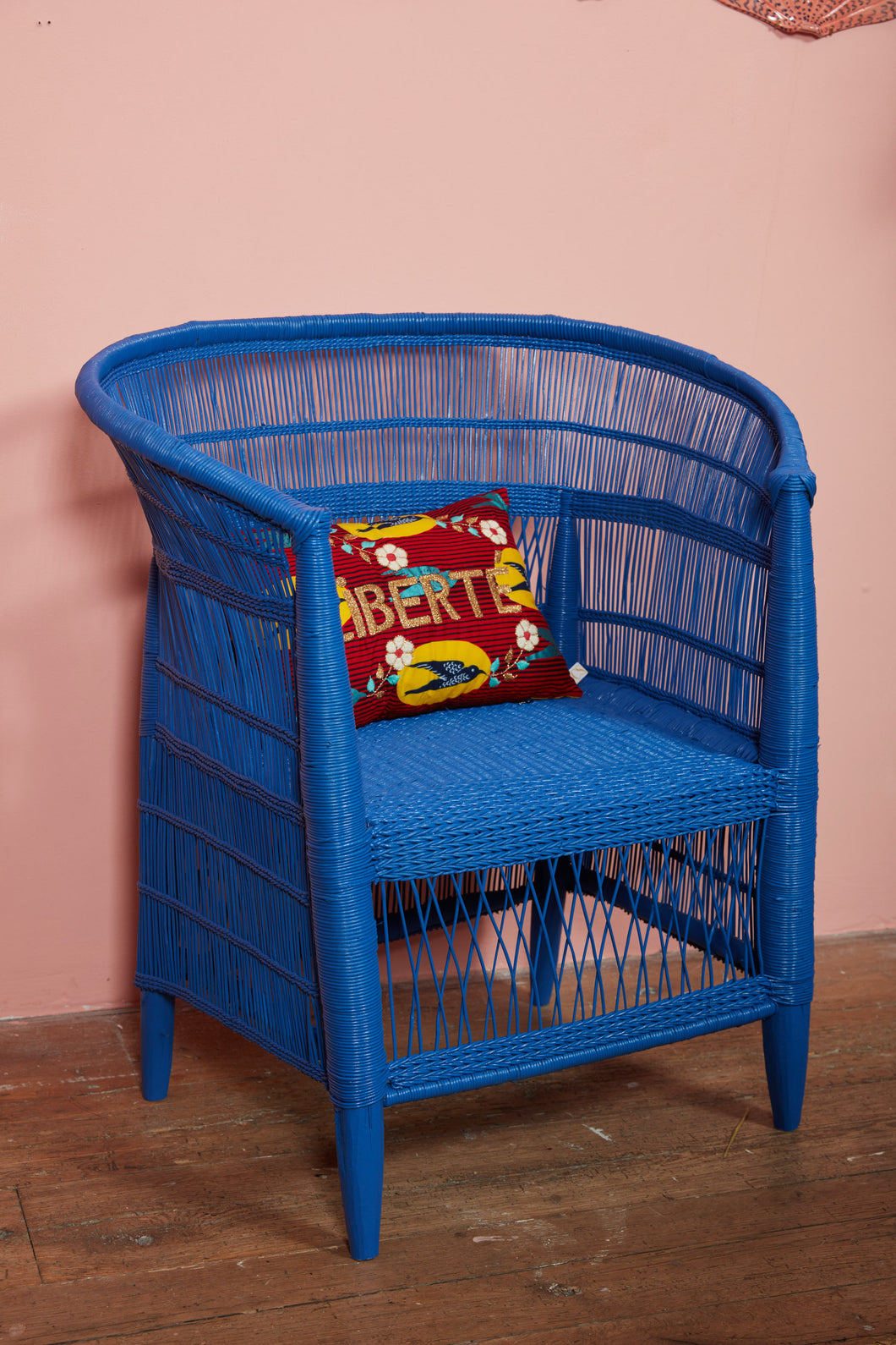 Traditional Single Seater in Blue
