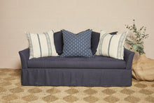 Load image into Gallery viewer, IN STOCK Axel Sofa in navy linen