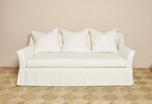 Axel Sofa in off-white linen - Hadeda Limited
