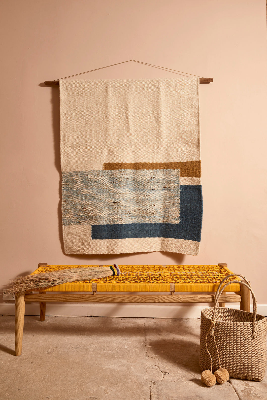 Patchwork Mohair Rug