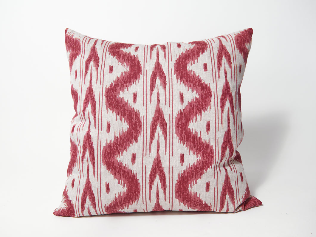 Whiteman & Mellor Batavia Scatter Cushion in Red