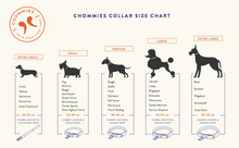 Load image into Gallery viewer, Chommies Large Dog Collar in Blue