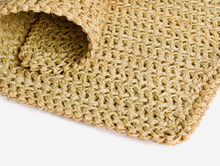 Load image into Gallery viewer, Made to order Rectangular Crochet Rush Mat