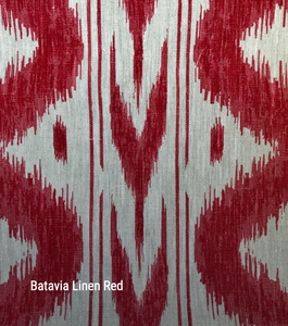 Batavia in Red - by the metre - Hadeda Limited