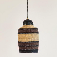 Load image into Gallery viewer, 'High Life' Hand Woven Pendant, Small - Noisette